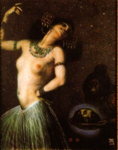 Salome, by Franz von Stuck