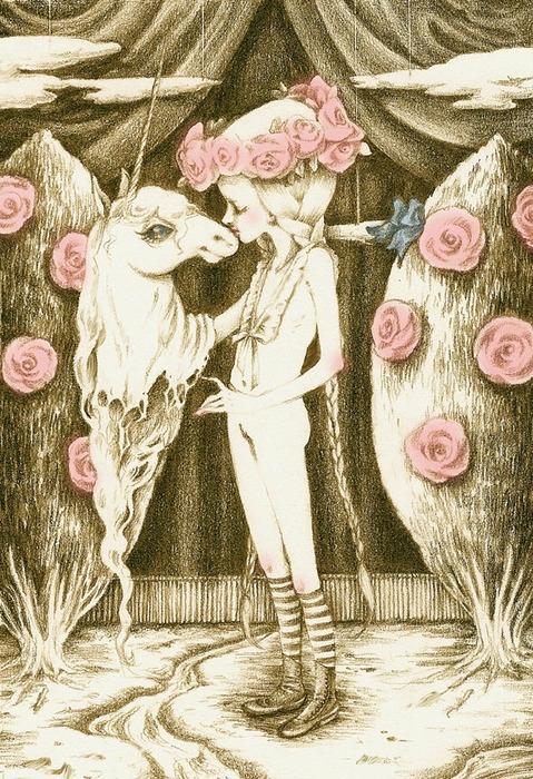 pink cake unicorn