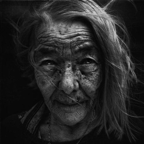 Winter Witch - Photo by Lee Jeffries