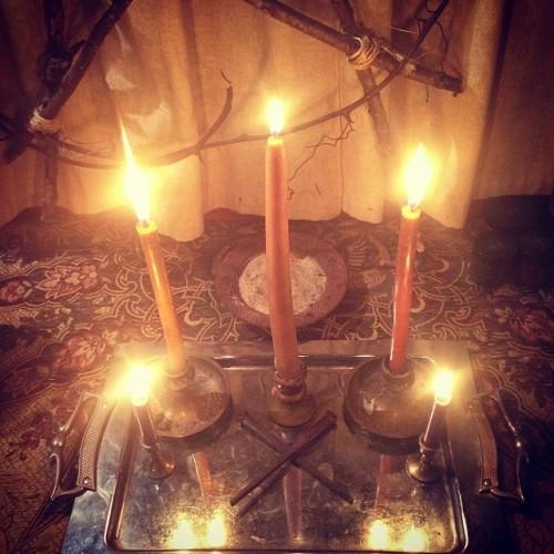 Brigid Imbolc Altar